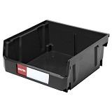 SHUTER Heavy Duty Storage Hang Bins [HB-235] - Black - Box Perkakas